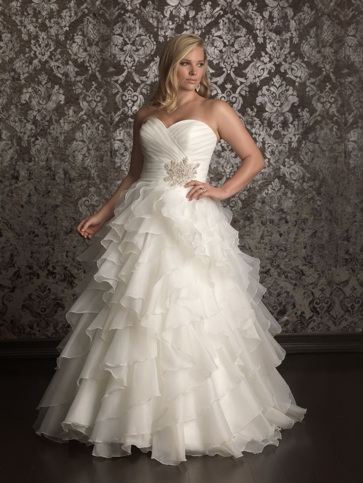 This would be nice with a coloured belt maybe - the snowflake needs to go --- add a different blingy pendant or even sparkly belt  Plus Size Wedding Dresses | Plus Size Casual Wedding Dresses 2013