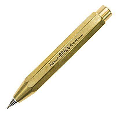 Amazon | カヴェコ ペンシル 0.7mm ブラススポーツ BRSP-BR | シャープペン | 文房具・オフィス用品