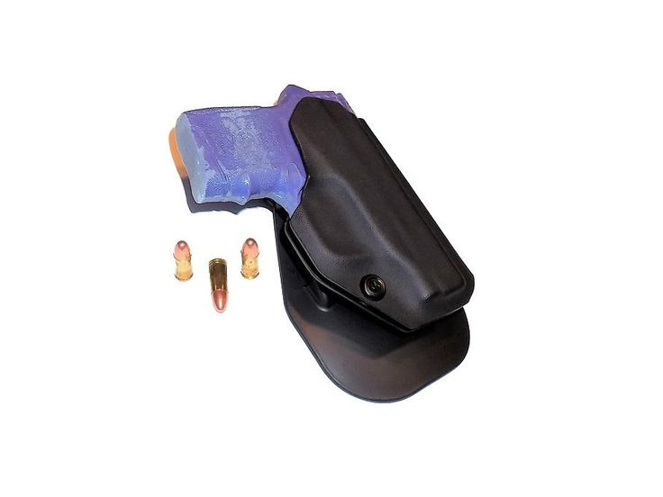 Aggressive Concealment BG380OWB OWB Kydex Paddle Holster Smith & Wesson Bodyguard 380