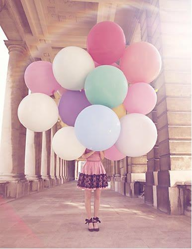 ballons make you smile