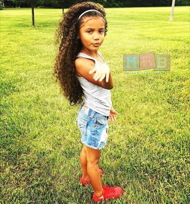 Mexican  African American  Phoenix Kiyomi - 6 Years Old -9586