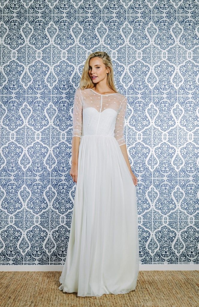 100 ideas to try about wedding in dotted swiss birdcage for Dotted swiss wedding dress