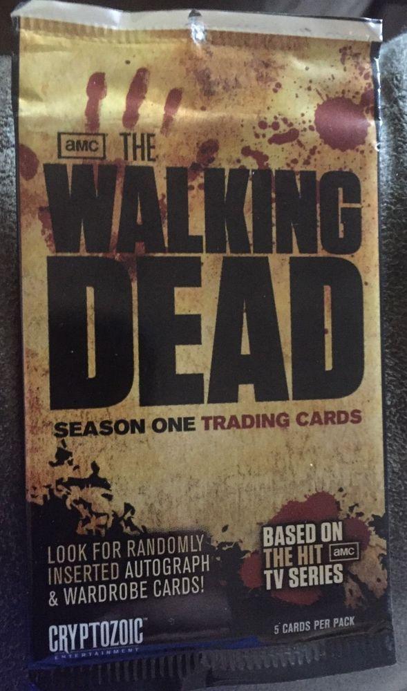 The Walking Dead Season One Sealed Pack