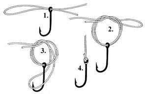 Learn Fishing knots - Eagle Claw - Palomar Knot