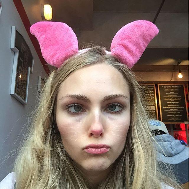 by annasophiarobb: The study bunny  #happyhalloween