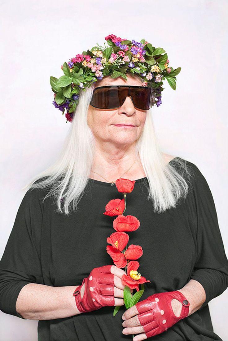 """Katarzyna Majak, """"Natalia LL, artystka"""", projekt """"Kobiety Mocy"""", dzięki uprzejmości artystki i Porter Contemporary Gallery"""