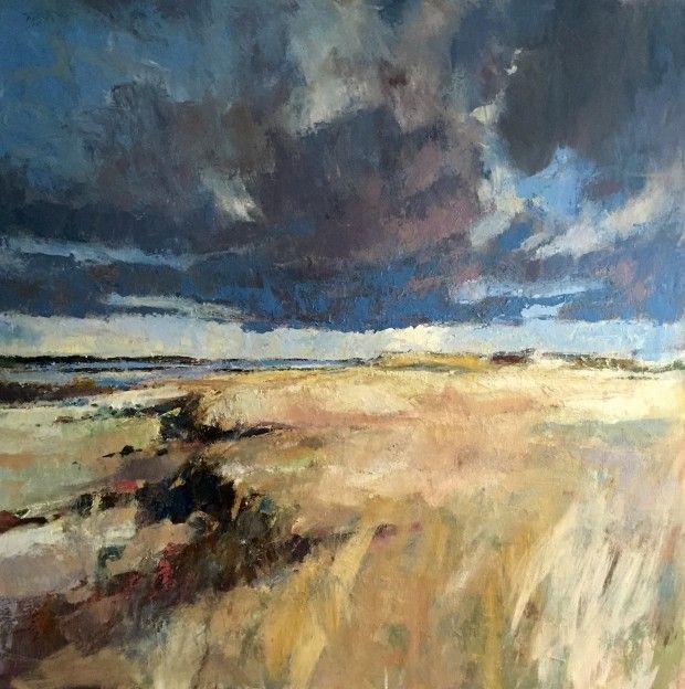 Heavy Sky oil on canvas, 90x90cm 2015 Paul Bell