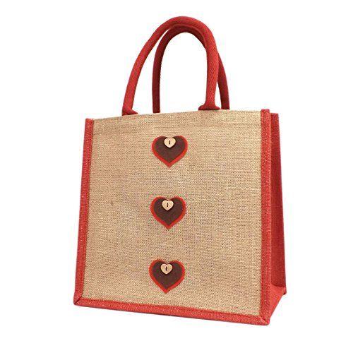 Jute Hessian Medium Shopping Bag - 3 Heart Design - Black Navy Pink Red Yellowboots http://www.amazon.co.uk/dp/B014O847BG/ref=cm_sw_r_pi_dp_1HuLwb0BBHTJ2