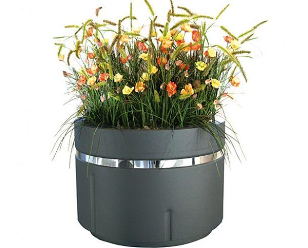 GroundLevel plantenbak Daria. #straatmeubilair #buitenmeubilair #plantenbak