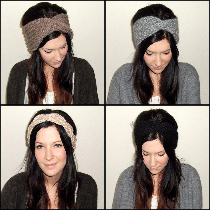 Stirnbänder selber stricken | jestilblog