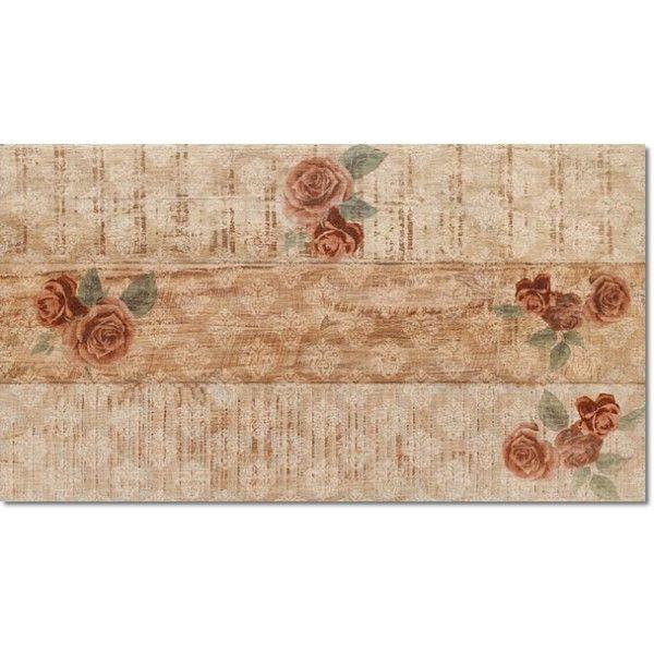 Kolekcja Rose - płytki podłogowe Rose Deco 31x56