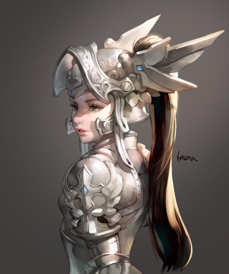 girl_knight, MA HO on ArtStation at https://www.artstation.com/artwork/6z1vW