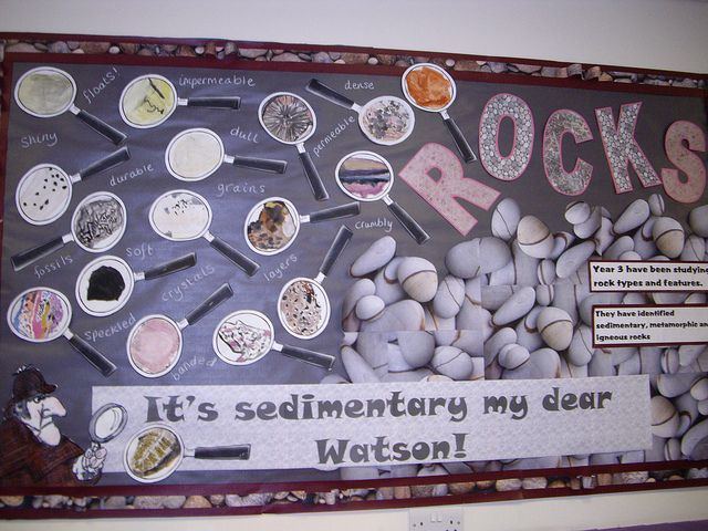 Studying Rock types and features - It's sedimentary my dear Watson! Rocks & soil by Emu582, via Flickr