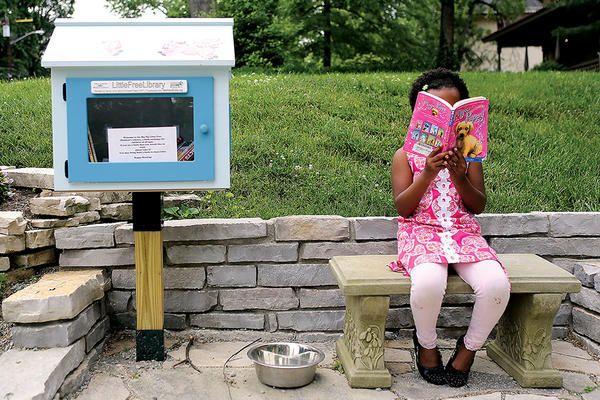 #LittleFreeLibrary adds charm to neighborhoods