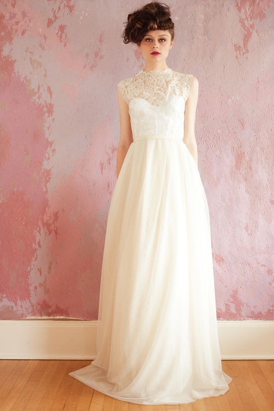 Sarah Seven 2013 Bridal gown. love this!Fields Of Flower, Wedding Dressses, Sarah Seven, Lace Tops, Flower Dresses, Spring Collection, Wall Flower, Dreams Dresses, The Dresses