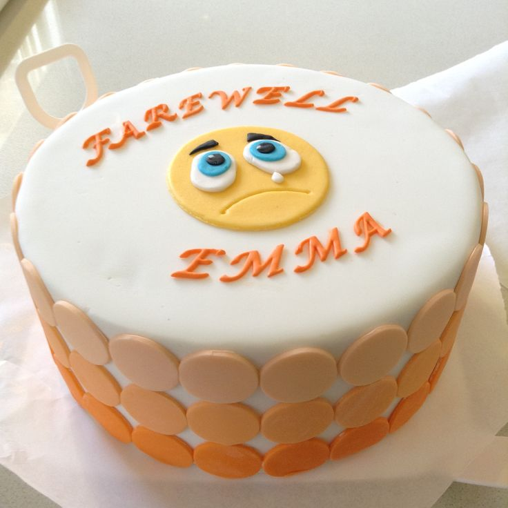 Goodbye Cake Images : Best 25+ Farewell cake ideas on Pinterest Going away ...
