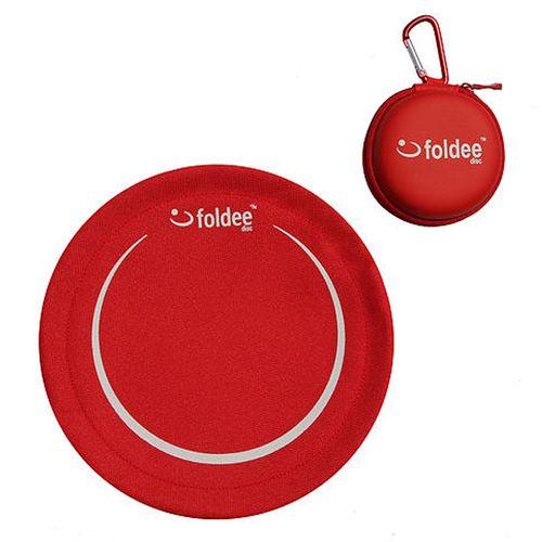 Red Folding Frisbee by Foldee