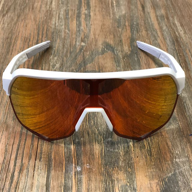 27a96f7799a Ride 100% S2 Matte Off White - Hiper Red Multilayer Mirror Lens. Long name.  Cool glasses.  ride100percent