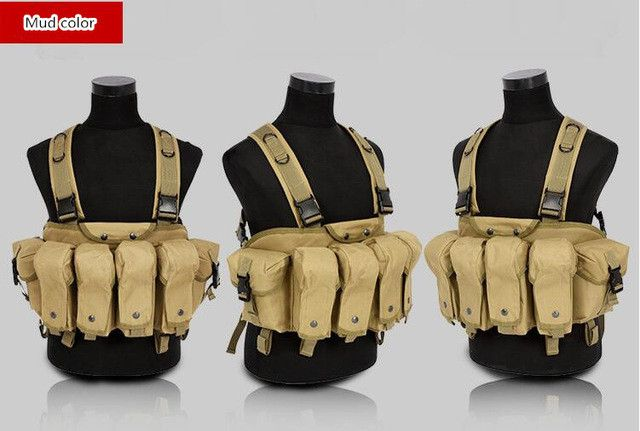 Professional magazine vests summer military tactical vests CS clothing vest US military tactical vest AK clip bellyband