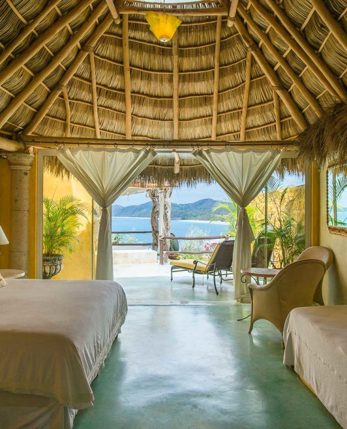 Amor Boutique Hotel is a luxury oceanfront boutique resort located in Sayuilta Mexico. Perfect vacation rentals for couples, families, surfers, & fishermen.