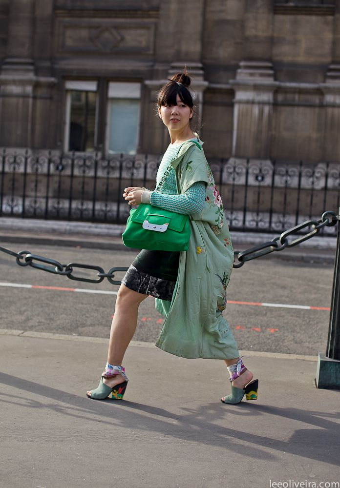 Susie Bubble at Paris Fashion Week