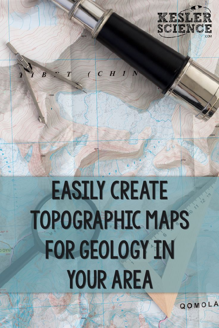 Best Topographic Maps Images On Pinterest - Interactive topographic map of us