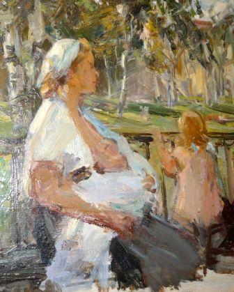 А. С. Бантиков, (1914-2002). Материнство A.Bantikov. Motherhood
