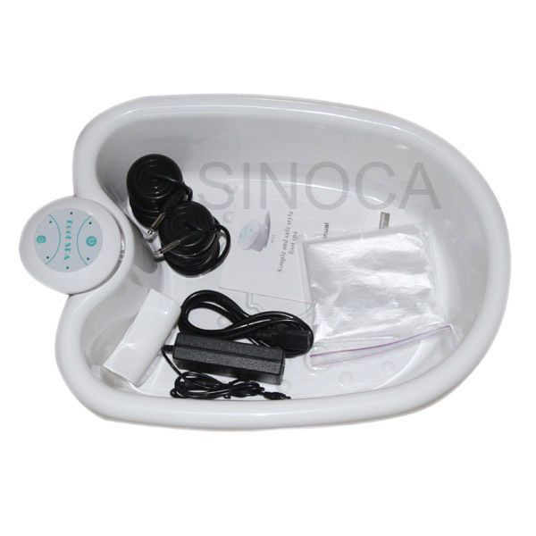 Ion Foot Baths: 2017 Ion Ionic Detox Foot Bath Cleanse Spa With Tub -> BUY IT NOW ONLY: $104.99 on eBay!