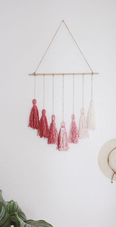 DIY Wanddeko im Boho Stil selber machen