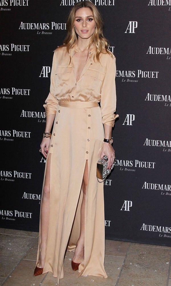 Olivia Palermo In That Self-Portrait Dress