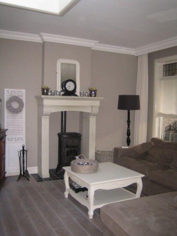 Mooie schouw houtkachels pinterest foto 39 s for Brocante woonkamer