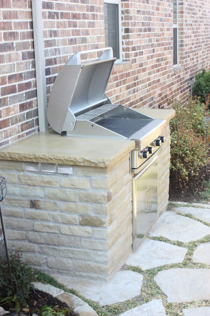 Green Meadows Landscaping Built An Outdoor Grill For A