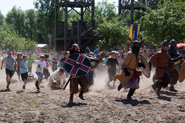 Get those vikings!