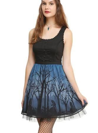 alice in wonderland dress hot topic - Google Search