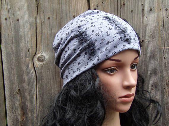 Slouchy Women Ladies Mom Beanie Hat Summer day gift Fashion Cool Cotton Beanie Slouchy hat Beanie gift ideas Boho Hippie Chemo hat