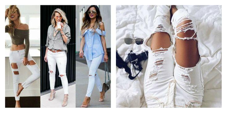 To λευκό τζιν είναι πάντα μια καλή επιλογή! #metal #metaldeluxe #jeans #white #comfort #casual #fashion #clothes #spring #summer #colour #whitejeans #rippedjeans #happy #style #mensfashion #womensfashion #fashionista #newarrivals #mensclothes #womensclothes #moodoftheday #picoftheday #chic