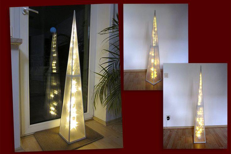 #Weihnachtspyramide #Pyramide #Holografie #Holografie #Pyramide 120 cm mit 32 LED drehend zur #Weihnachtsdekoration zu #Weihnachten #Pyramide #Weihnachten