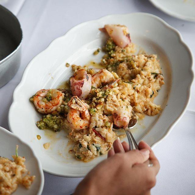 Risotto de Mar / Seafood Risotto.   #gastronomia #food #cocinaitaliana #italianfood #risotto #seafood