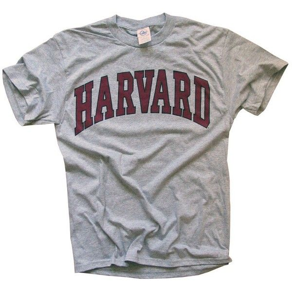 Harvard University T-Shirt, Officially Licensed College Athletic Tee,... ($20) ❤ liked on Polyvore