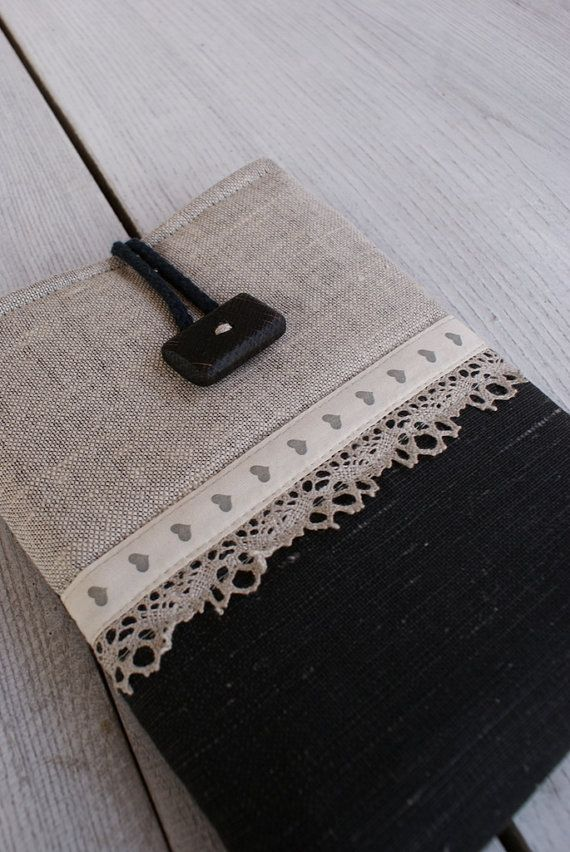 Apple iPad mini Case/ Sleeve/ Cover/ linen by sandrastju on Etsy