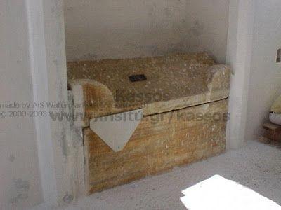 MYSTAGOGY: The Tomb of Saint Kassiani in Kasos Island, Dodecanese, Greece