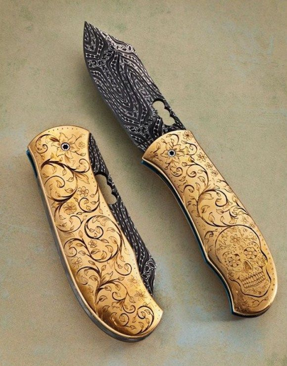 Here we have a collection of 22 beautiful custom pocket knives. The care that has gone into handcrafting these tools is evident in every single image. The creation of a custom knife provides the knife-smith