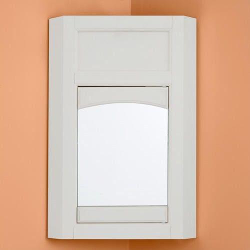 Corner Bathroom Medicine Cabinet Mirrors: Corner Medicine Cabinet With Mirror