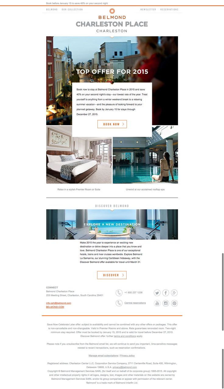 Belmond hotels are masters at email marketing this for Design ximen hotel blog