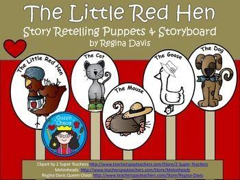 A Little Red Hen Story Retelling