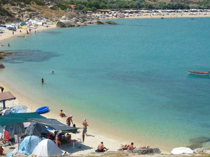 Kriaritsi beach, Sykia, Sithonia