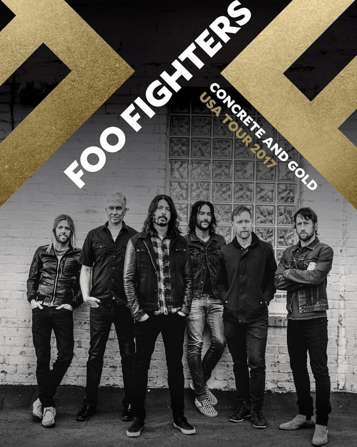 "69.3k Likes, 1,430 Comments - Foo Fighters (@foofighters) on Instagram: ""CONCRETE AND GOLD USA TOUR dates on foofighters.com"""