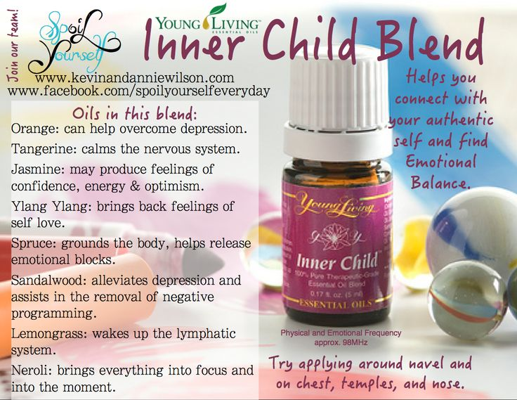 Young Living Inner Child Essential Oil. Purchase here: www.theoildropper.com FREE book with enrollment!