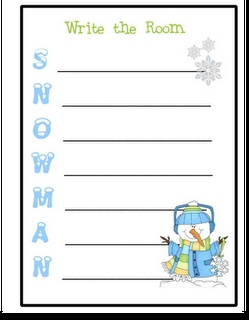 Pick up 2 Write the Room FREEBIES on my blog! Just print, laminate, and go!