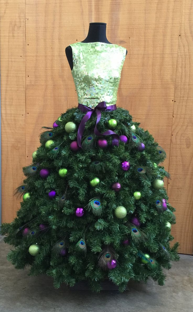 Diy Tutorial: Deluxe Dress Form Christmas Tree With Wide Skirt – Mannequin  Madness